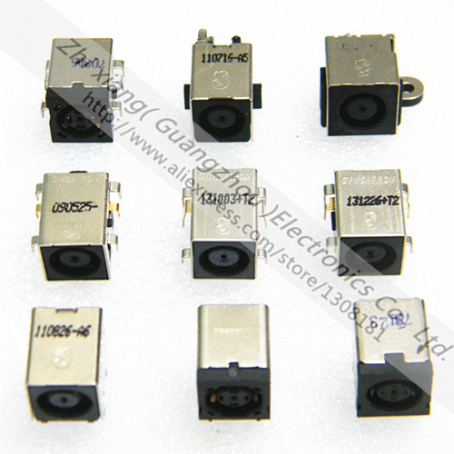 Free shipping 9models/18pcs DC Power Jack for Laptop DELL series charging Connector socket<br><br>Aliexpress