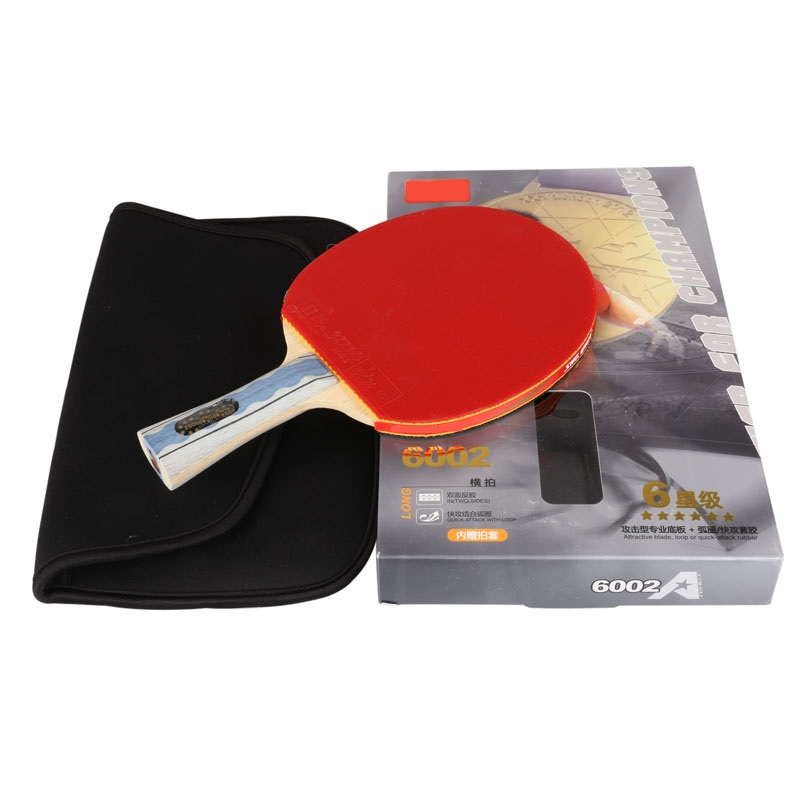 A6002 A5002 Table tennis rackets . 6 STARS . finished product Table tennis racquet(China (Mainland))