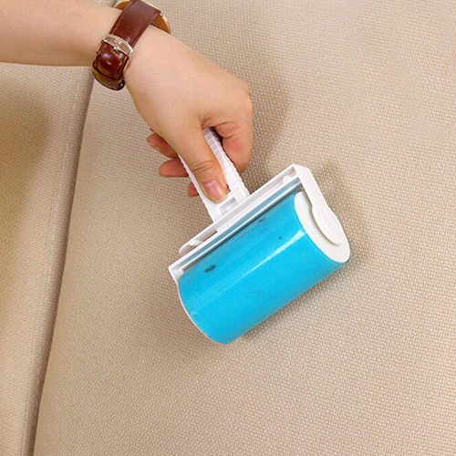 Washable Home Sheet Pet Hair Dust Remover Clothes Cleaning Sticky Lint Roller BT85(China (Mainland))