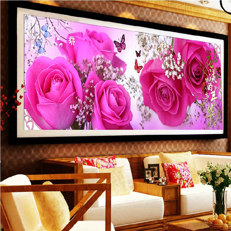 2015 Real Bath Towels for D Circle Drill The New Mood for Living Room Series Crystal Diamond Affixed Stickers Stuck Cross Stitch(China (Mainland))