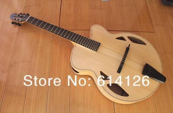 """Nueva marca AAA-Hand-carved Archtop 17 """" guitarra con el caso(China (Mainland))"""