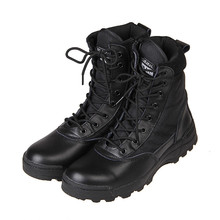 2016 America Sport Army Men's Tactical Boots Desert Outdoor Hiking leather Boots Military Enthusiasts Marine Male Combat Shoes(China (Mainland))