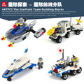 Hot selling JIESTAR Space Series Mars Rover Children Educational Assembled Toys Building Blocks Brick