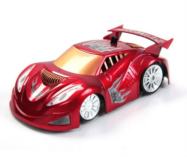 New Toy Cars : New design high quality wall climbing rc toy car red color g