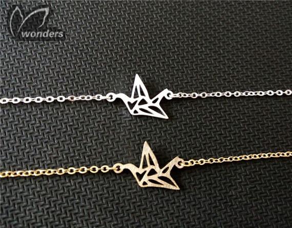 Bird Paper Crane Bridesmaid Bracelet For Women<br><br>Aliexpress