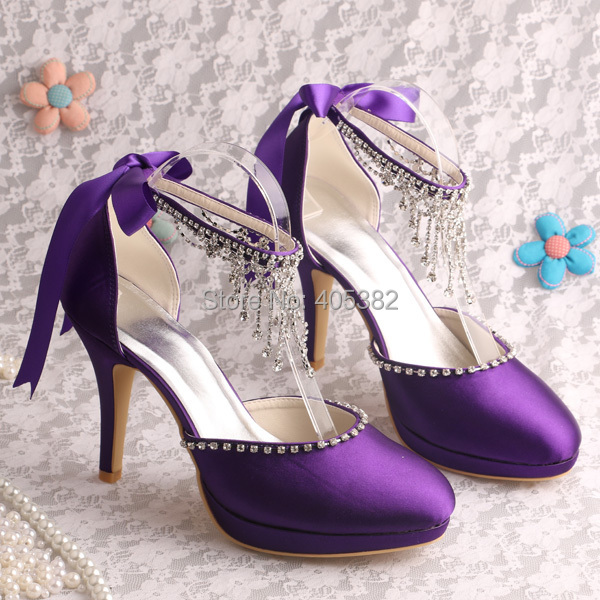Purple Bridal Shoes Reviews