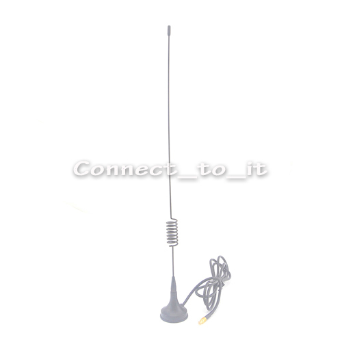 3.5DBi Gains ADS-B 1090Mhz MCX Male Connector Aerial Magnetic Base RG174 1M Antenna Free shipping(China (Mainland))