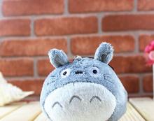 1X Kawaii CUTE Plumpy MY Neighbor TOTORO 7*6CM Plush Stuffed TOY Phone Strap DOLL ;  Gift TOY BAG Pendant TOY Gift DOLL(China (Mainland))