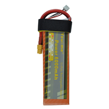 You&me New 7.4V 6000mAh 50C Max 100C 2S 7.4V RC Li-Poly Battery for rc helicopter quadcopter