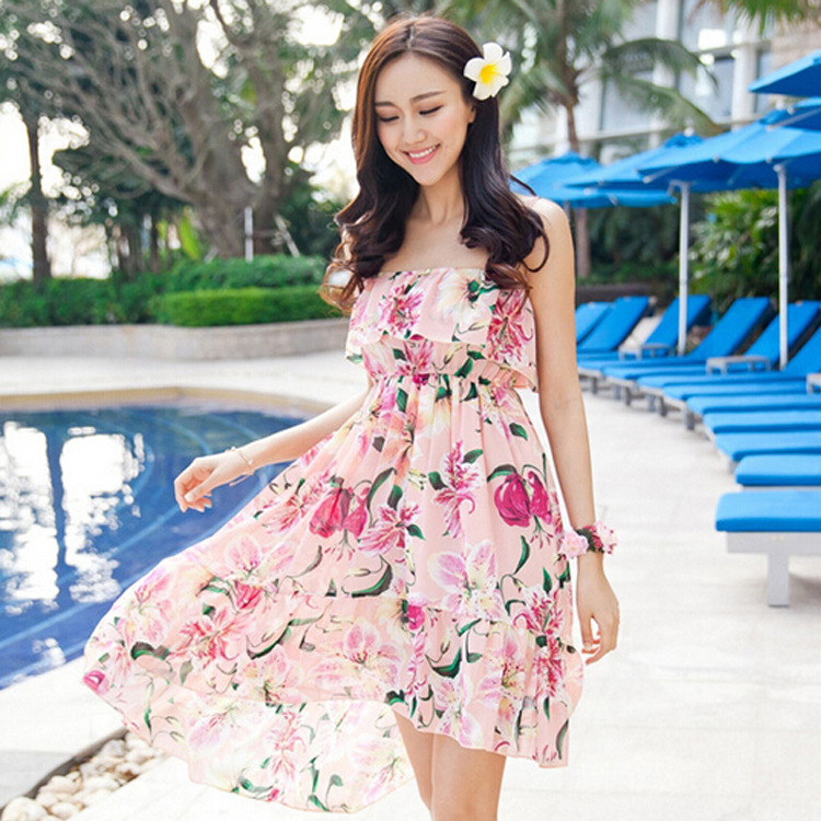 Images of Casual Summer Beach Dresses - Reikian