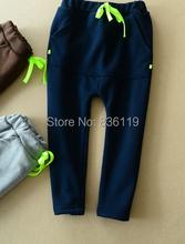 2015 Children harem pants boys and girls leisure pants kids trousers boys clothes baby warm pants
