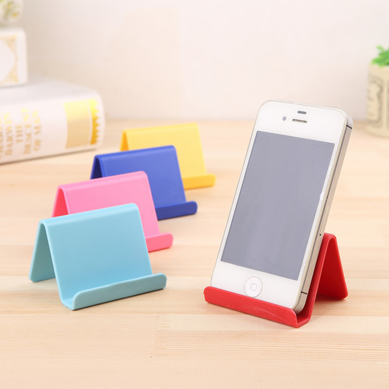 Korean Style Mobile Phone Holder Creative Cute Candy Mini Portable Phones Fixed Holder Simple Debris Storage Rack Home Supplies(China (Mainland))