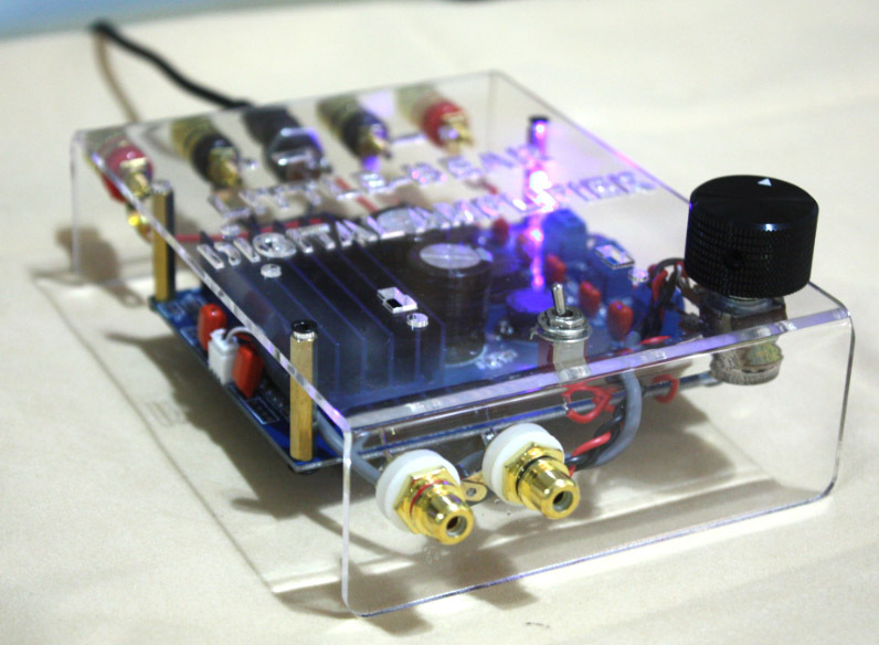 DIY KIT make different TDA7498 Class D stereo digital amplifier amp 2x 100W(China (Mainland))