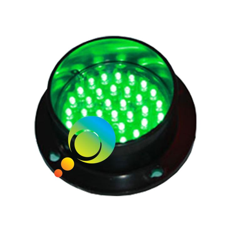 High quality mini waterproof 100mm lamp green LED flashing traffic light(China (Mainland))