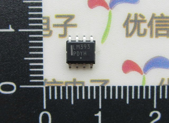 SMD LM393DR2G chip Standard Recovery Power Rectifier SOP-8 Original ON - A1072(China (Mainland))