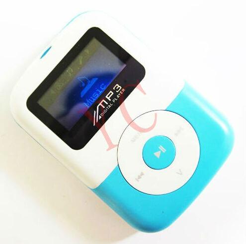 Free Shipping 10pcs/lot cartoon uu smile face mp3 Mini Clip MP3 player beautiful Plastic MP3 with TF Slot(China (Mainland))
