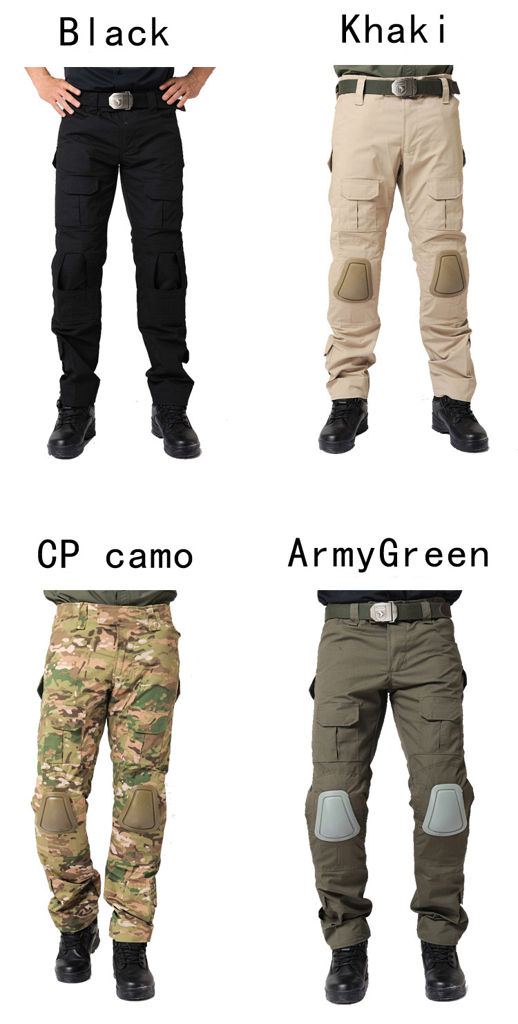Solid Military Tactical Pants