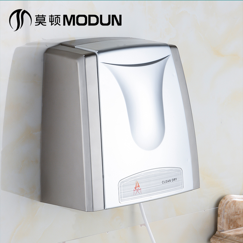 Free shipping automatic induction hand dryer hotel bathroom single dryer drying speed intelligent Hand Dryers(China (Mainland))