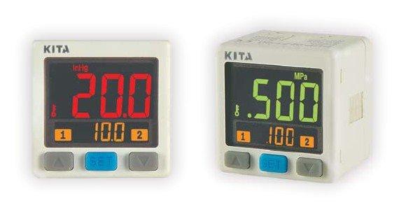 KITA new digital pressure switches KP43P-011-F1 -0.1~1.0MPa DC12-24V 4~20mA ANALOG OUT 111(China (Mainland))