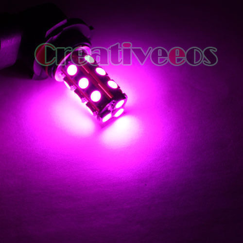 2Pcs 9006 HB4 12V Car Vehicle High Bright 18LEDs 5050 SMD LED Fog Head Driving Light Bulb Lamp Yellow / White / Pink / Blue(China (Mainland))