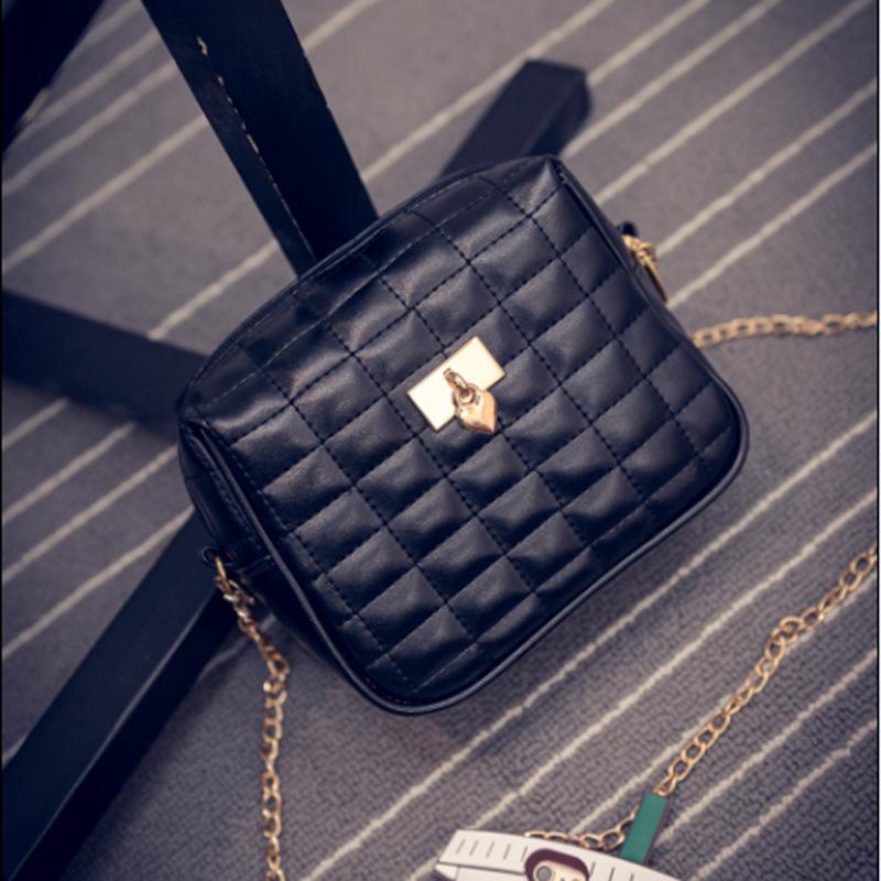 Summer Beauty Messenger Bag Beautiful Designer Leather Mini Handbag Casual Shoulder Bag Crossbody Bags for Women Single Chain(China (Mainland))