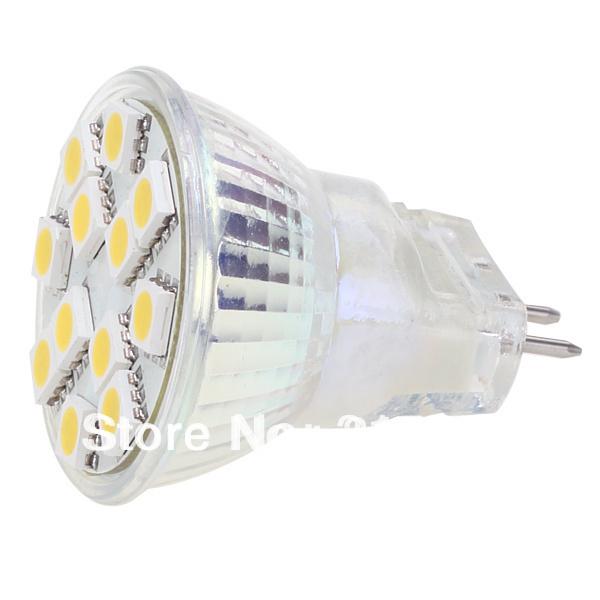 Free Shipment !!! MR11 LED Residential Bulb 12led SMD AC/DC10-30V 12V/24V High Power Spot Light 2pcs/lot(Hong Kong)