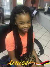 African Hair Braiding Styles Marley Braids 18inches Havana Mambo Twist Crochet Braiding Hair Extensions for Kids and Women