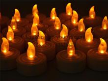 1pcs Flickering Flameless LED room Tealight Flicker Tea Candle Light chrismas Party Wedding Candles Safety Home kids Decor Xmas(China (Mainland))