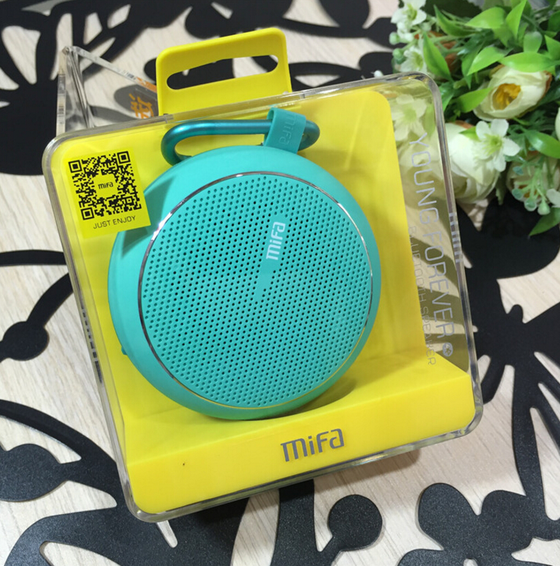 Level 4 waterproof Wireless Surround 3D Bluetooth Mini Portable Speaker MIFA F1 Mobile Phone Bicycle Sound Card Car Subwoofer(China (Mainland))