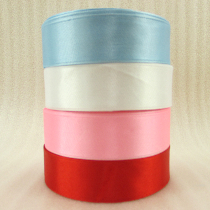 """25Y42245 1"""" 25mm 25 Yards Single Face Satin Ribbon for Wedding Party Decoration Invitation Card Gift Wrapping Christmas Supplies(China (Mainland))"""