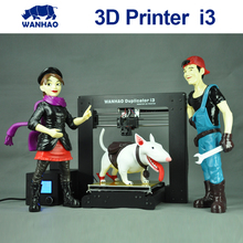 2015 Upgraded Quality High Precision wanhao Prusa i3 DIY 3d Printer kit with  LCD