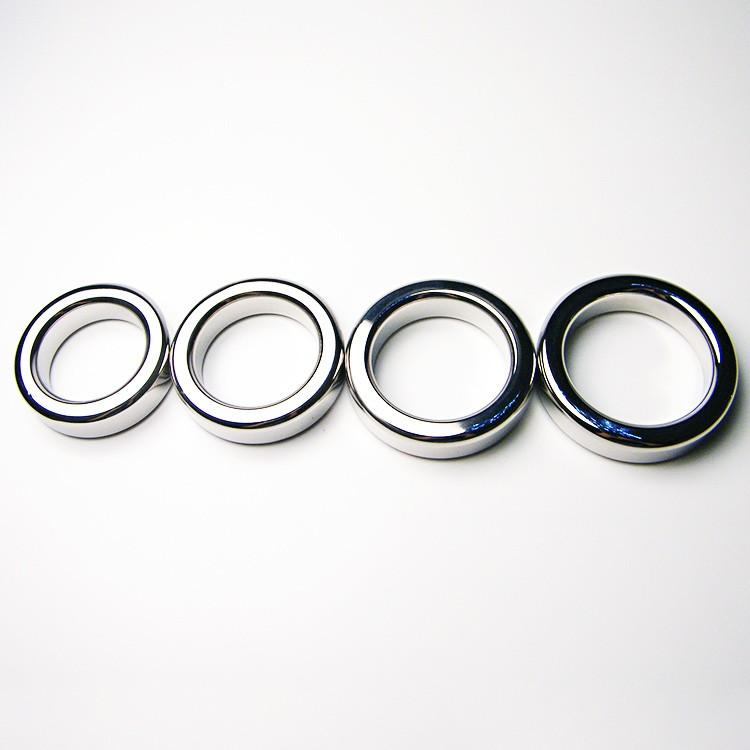 Male Metal Cock Ring 9mm Thicken Stainless steel Penis Delay ring Inner diameter 38 41 44 47mm Optional2