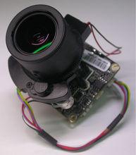 "IPC (720P) Motorized Zoom & Auto Focal LEN 1/3"" Aptina CMOS sensor AR0130 +Hi3518C CCTV IP camera module PCB board +LAN cable(China (Mainland))"