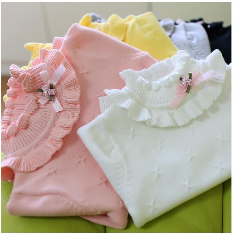 New winter spring baby sweaters girls sweaters kids turtleneck sweaters children outerwear sweaters girls cardigan<br><br>Aliexpress