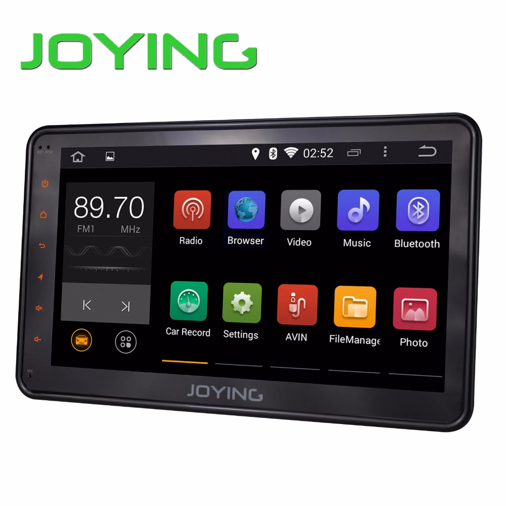 """Joying 10.1"""" Car Stereo 1024*600 GPS Navigation System For VW/skoda/seat Android 4.4.4 Quad Core Single Din Head Unit+3G dongle(China (Mainland))"""