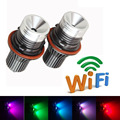 2Pcs Set Car LED Angel Eyes E39 10W Cree Chip LED Marker Headlight For BMW E39