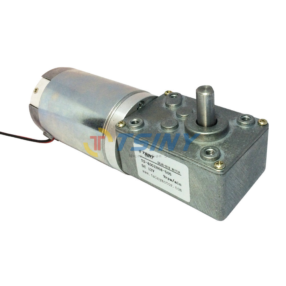 Dc 12v 9rpm gear motor 44mm dc motor of miniature Miniature gear motors