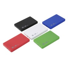 "USB 2.0 480Mbps Enclosure Case Box for Laptop 2.5"" SATA Hard Drive est(China (Mainland))"