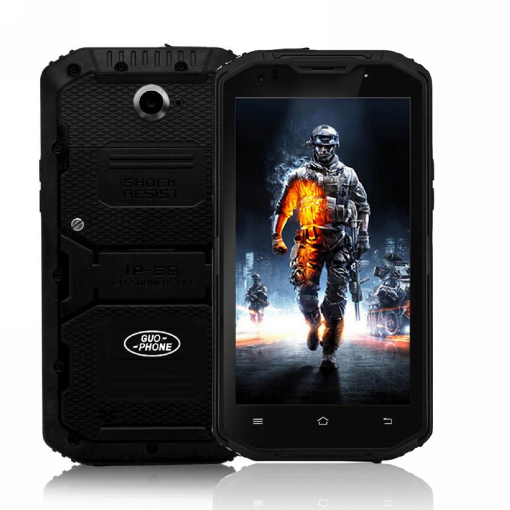 GUOPHONE V13 4G Cell Phone 5.5 Inch Android 5.1 MTK6735 Quad Core 2GB+16GB 13MP Dual SIM 4500mAh Waterproof Shockproof GPS WIFI(China (Mainland))
