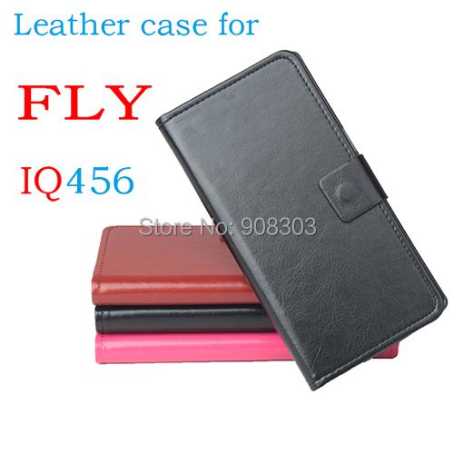 FLY IQ456 Leather Case PU flip Moblie phone Phone case freeshipping - Shenzhen Yi Fang FX Electronics Co.,Ltd store