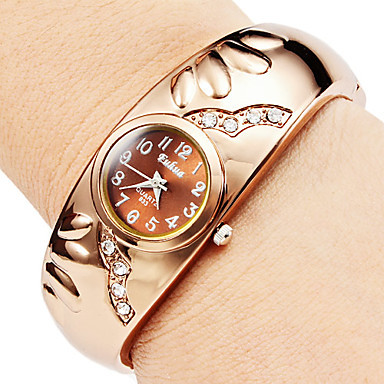 2015 luxury brand rhinestone bracelet watches fashion rose gold watch women quartz watch clock relojes mujer