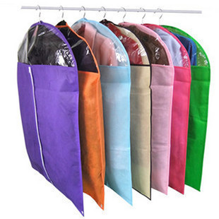 5 Pcs/Lot Non-woven Clothes Coat Storage Garment Bags Rack Home wardrobe Closet Organizer Supplies Accessories Products(China (Mainland))