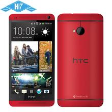 Original HTC One M7 2GB RAM 32GB ROM Mobile Phone Android Quad Core 4MP 1.7GHz 4.7'' 1920x1080 Super LCD HD NFC Free shipping(China (Mainland))