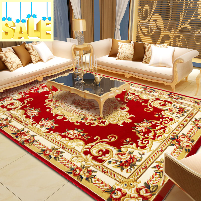 discount shaggy modern carpet for livingroom and big area red rug of