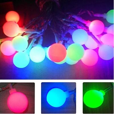 LED Ball String Light 9M 20LED Mini Globe String Waterproof Decorative Christmas Tree Party Lamp(China (Mainland))