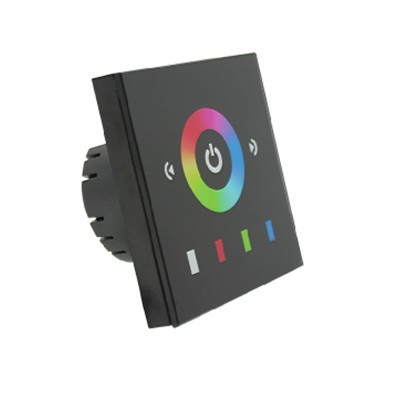 TM08E2 DC12V 144W, DC24V 288W, EU standard Low voltage full color Touch Panel LED RGB controller 4A*3channel output for European<br><br>Aliexpress