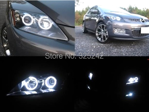 Неоновые кольца Angel Eyes VAHID Mazda cx 7 cx/7 2006/ccfl Ultrabright Halo