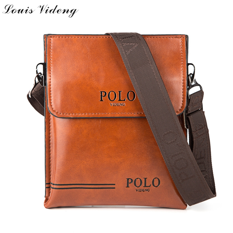 New Fashion Simple Striped Design Mens Bags Double Side Usable Leather Shoulder Bags For Men Cool Cross Body Bag Famous Brand(China (Mainland))