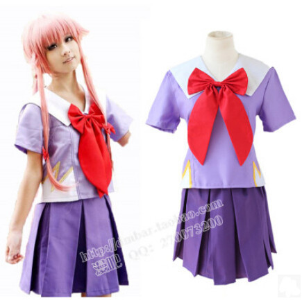 DB23686 yuno gasai costume cosplay