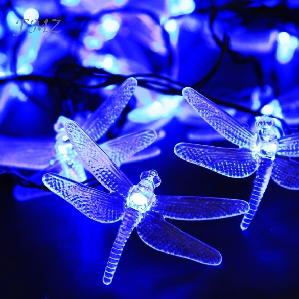 Hot Sale 30 LED 0.15M Solar Powered String Light Christmas/Wedding/Party Decoration Lights With ...
